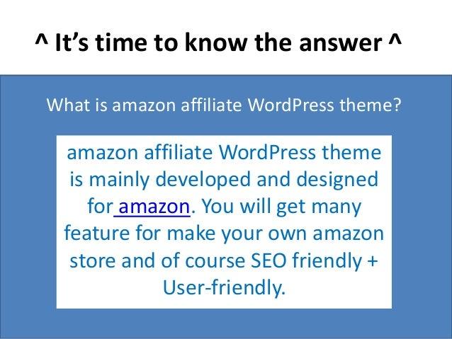 Authority Azon Review : The Best Amazon Affiliate WordPress Theme For…