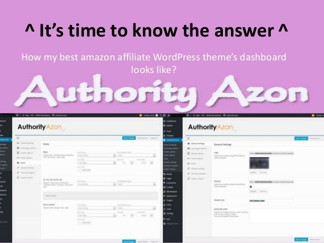 Authority Azon Review : The Best Amazon Affiliate WordPress Theme For…