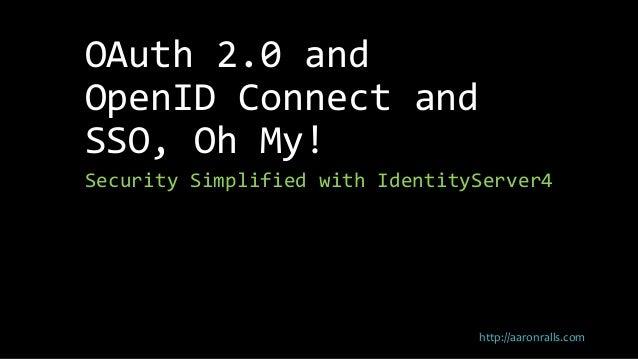 Authorization and Authentication using IdentityServer4