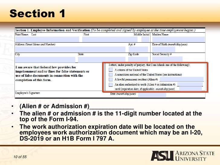 Work Authorization Form Authorization To Complete I Forms Foreign