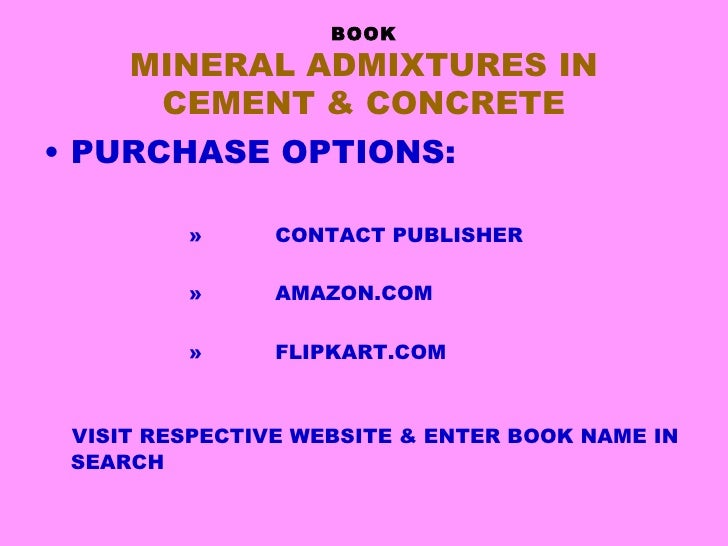 Author jayant d_bapat_book_mineral_admixtures_in _cement_and_concrete_crc_press Slide 2