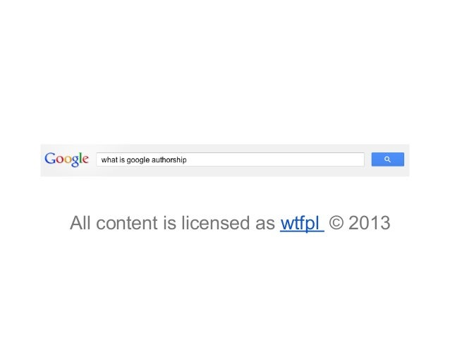 All content is licensed as wtfpl © 2013