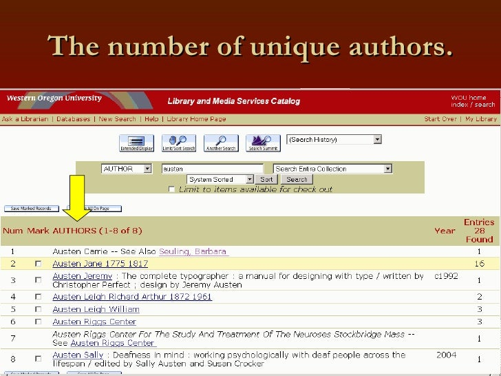 The number of unique authors.