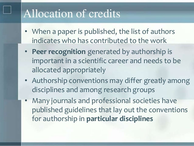 Research paper author order