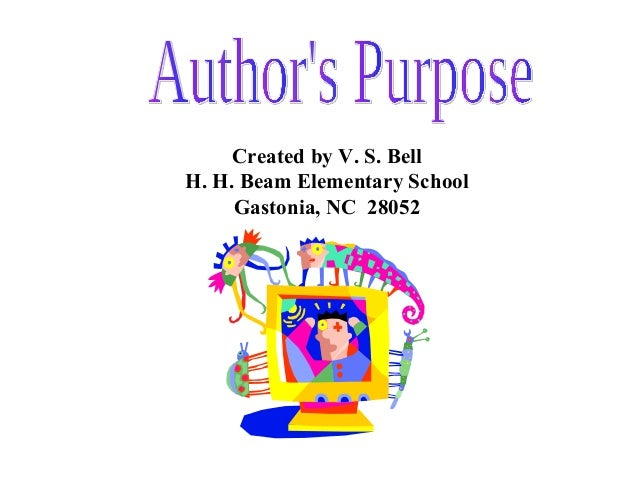 Created by V. S. Bell H. H. Beam Elementary School Gastonia, NC 28052