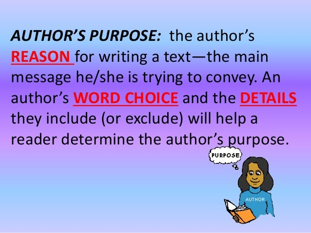 Author's purpose perspective pw pt for notes nb p 31