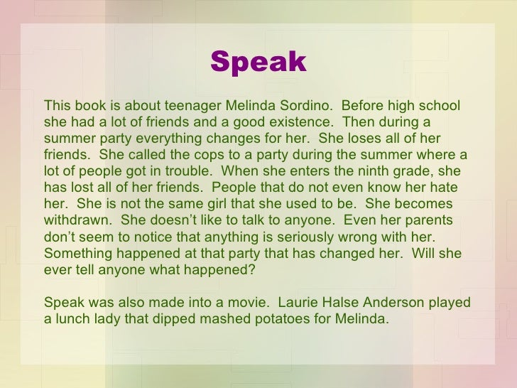 author study laurie halse anderson speak