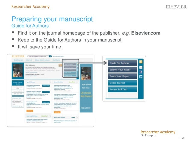 How to get published by Ms  Chen Lin from Elsevier STM journals (Octo…