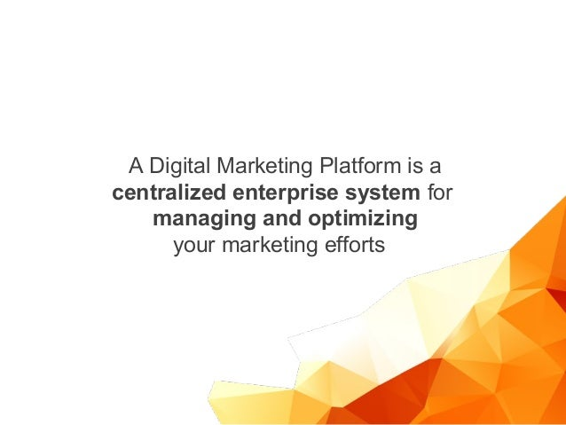 How to become successful with Digital Marketing Platforms Slide 3