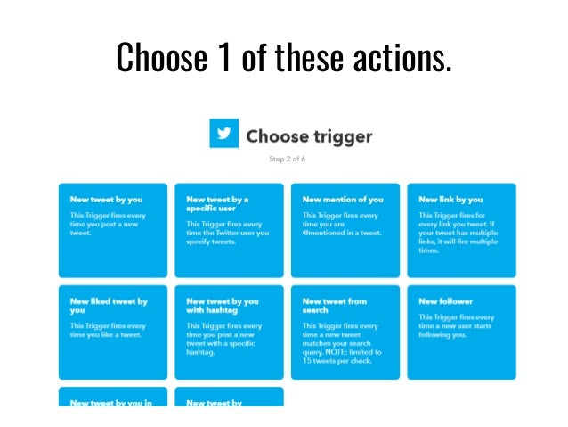 how to create applets in ifttt