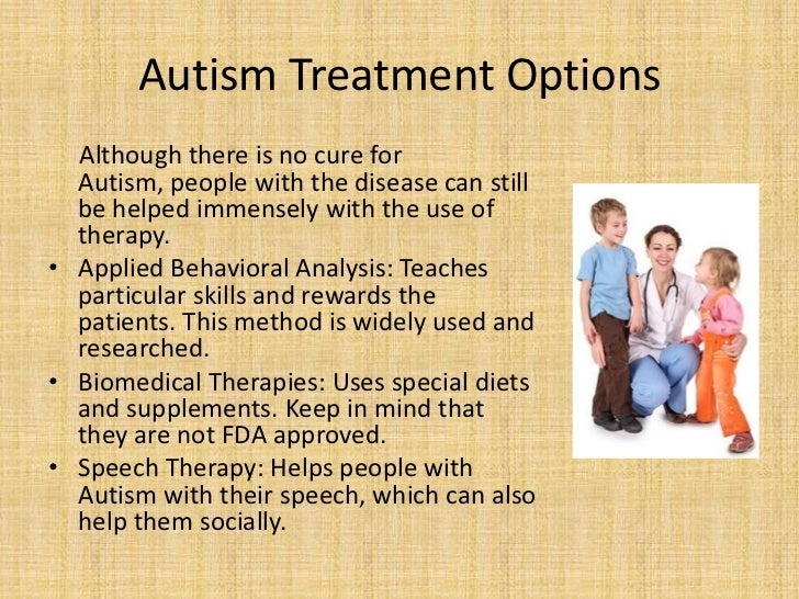 autism treatment Autism spectrum disorder is a serious condition related to brain development that impairs the ability to communicate and interact with others.
