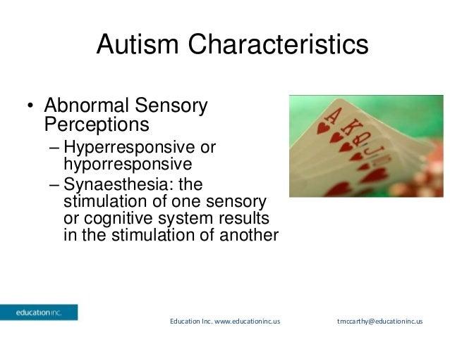 Symptoms of autism in rain man