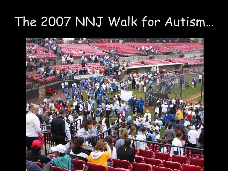 The 2007 NNJ Walk for Autism…