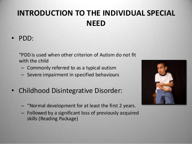 case study for autism