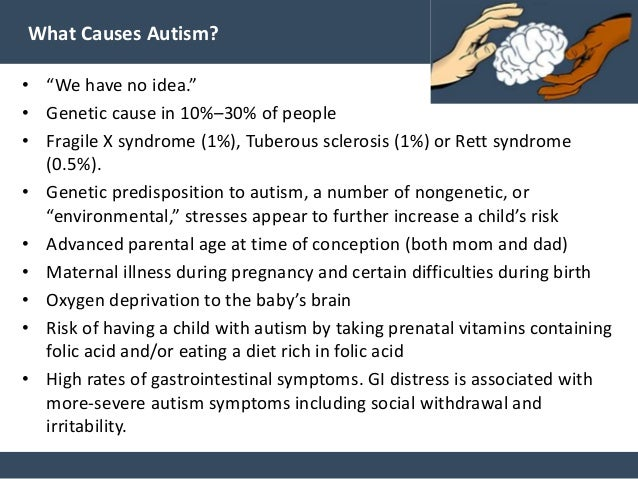 the causes of autism