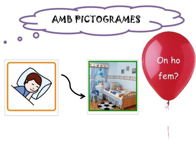 AMB PICTOGRAMES On ho fem?