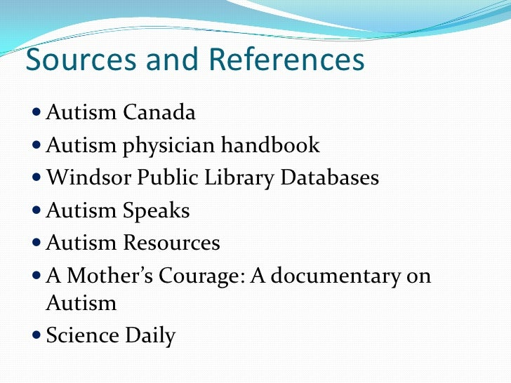 Introduction to the Issues Facing People on the Autism Spectrum
