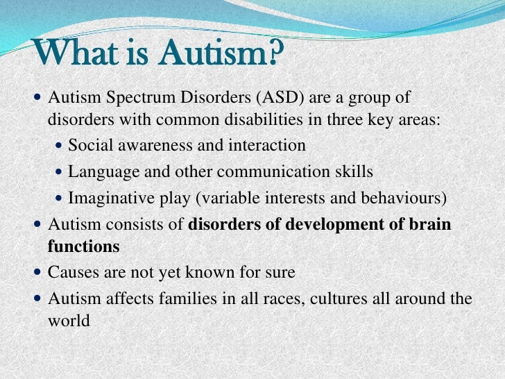 an introduction to autism an introduction to autism<br > 2