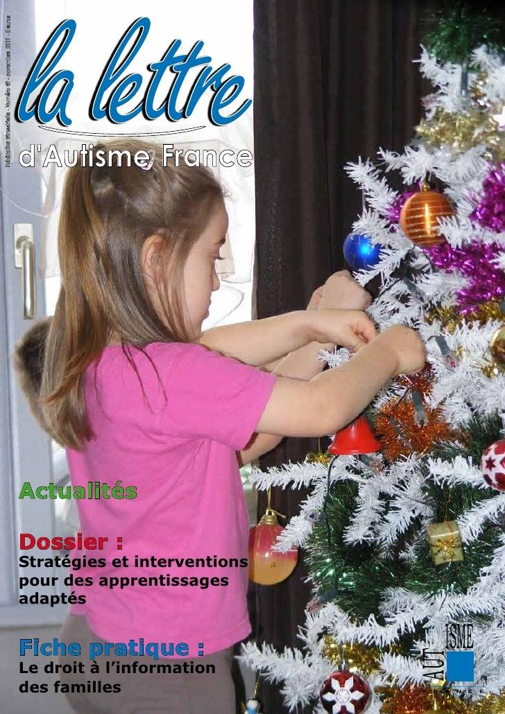 la lettrePublication trimestrielle - Numéro 49 - novembre 2011 - 5 euros                                                  ...