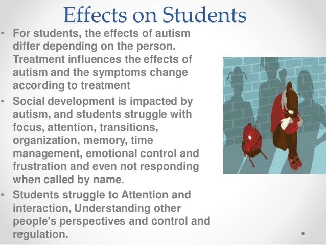 autism symptoms change over time pdf