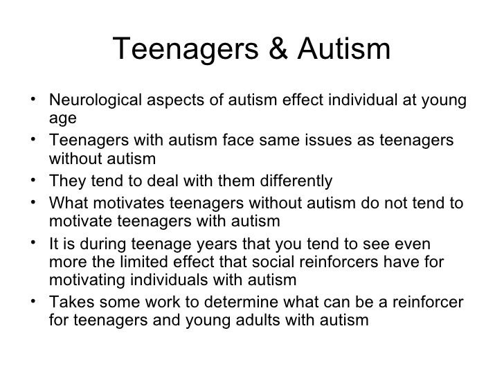 Causes & Effects of Autism