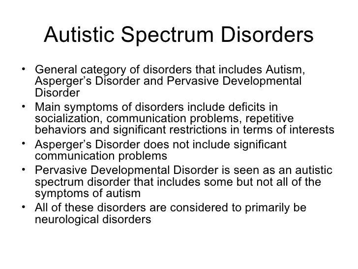 autistic spectrum disorder symptoms adults