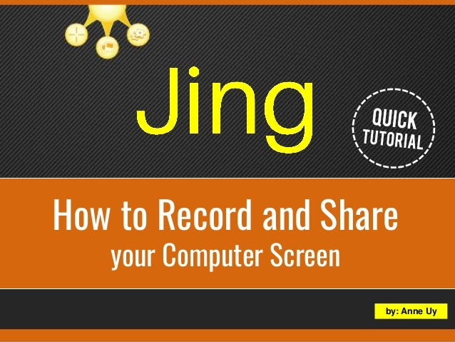 record your computer screen