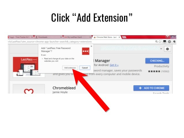 how to add chrome passwords to lastpass