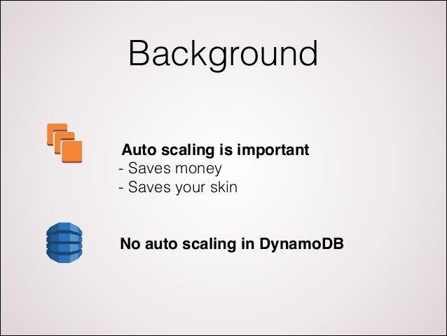 Autoscale DynamoDB with Dynamic DynamoDB Slide 3