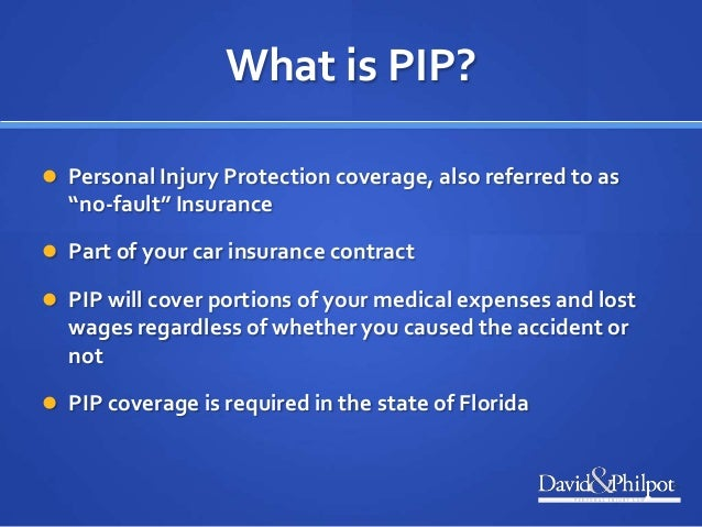 Auto Accident Resources in Florida - Understanding PIP Insurance