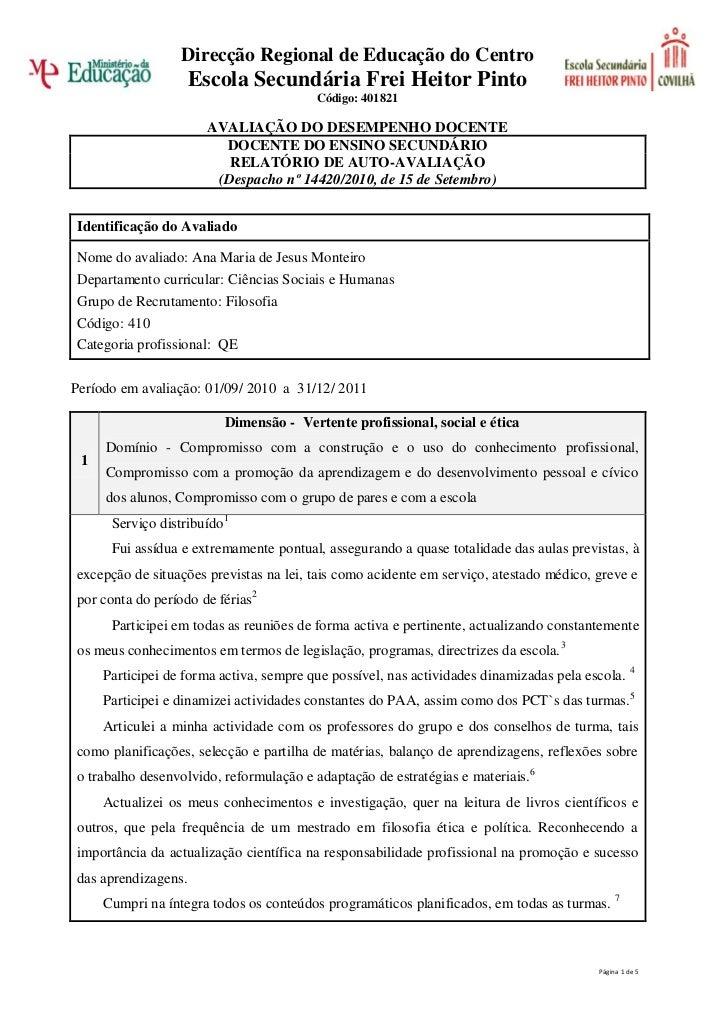 Direcção Regional de Educação do Centro                     Escola Secundária Frei Heitor Pinto                           ...