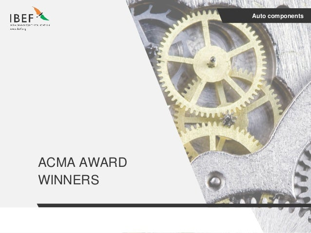 Auto Components Sector Report July 2017