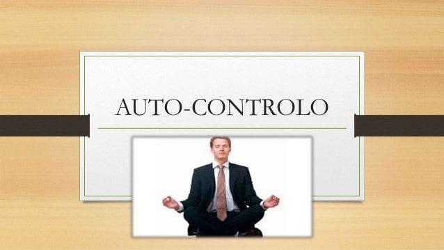 AUTO-CONTROLO