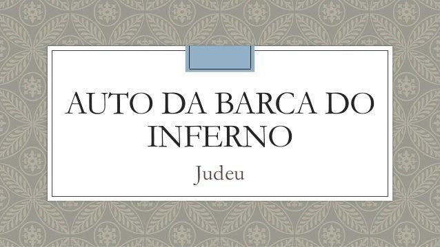 AUTO DA BARCA DO INFERNO Judeu