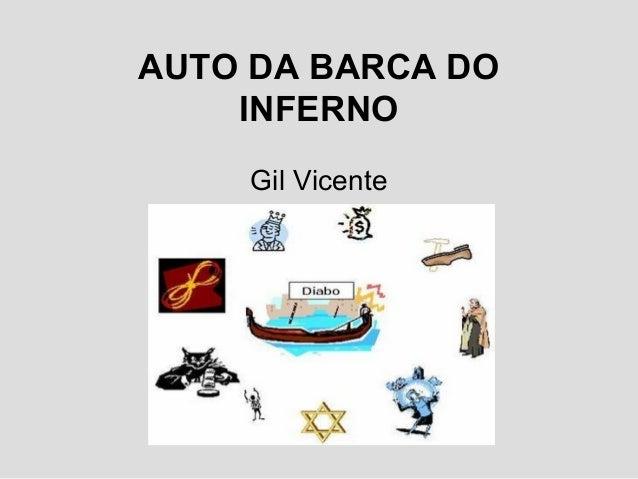 AUTO DA BARCA DOINFERNOGil Vicente