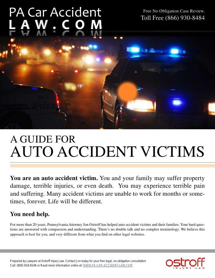 PA Car Accident                                                                                          Free No Obligatio...