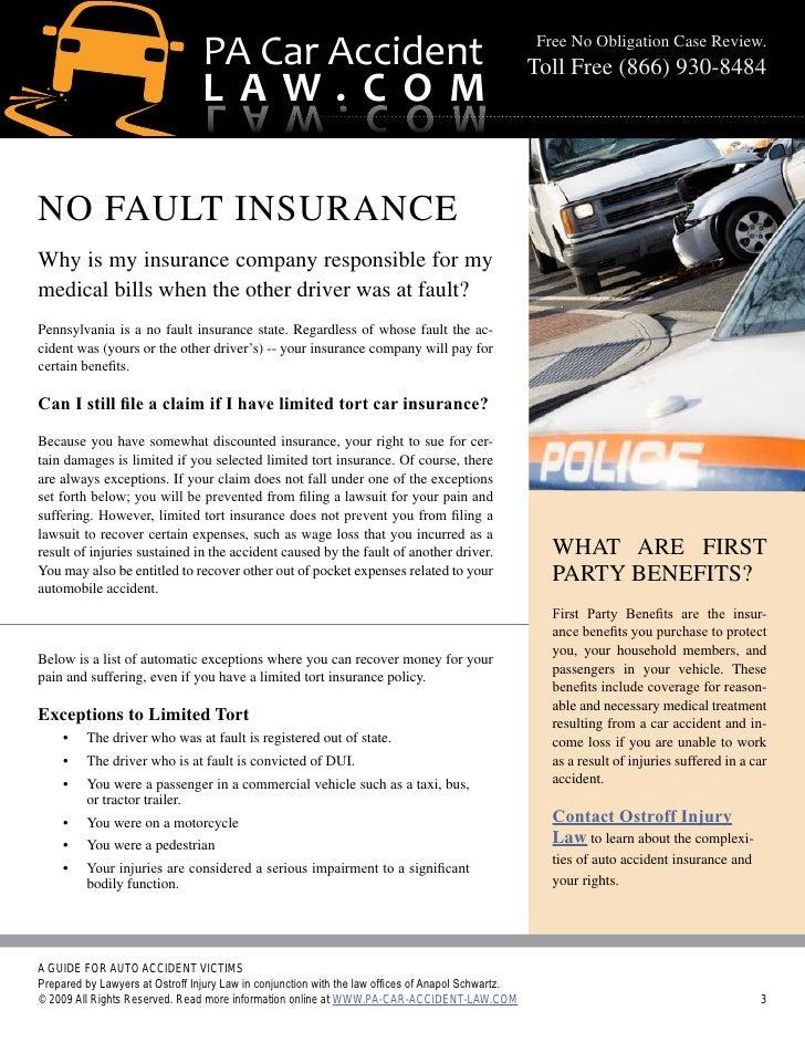 Pennsylvania Auto Accident Lawyer