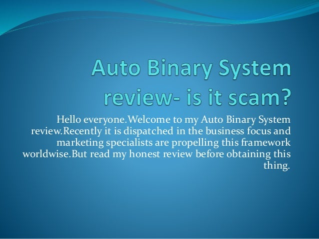 Binary system scams