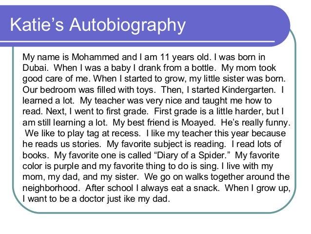 Autobiography review paragraph