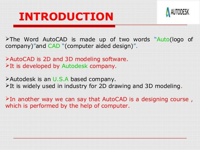 Anurag arpan ppt on autocad mechanical engg for Cad 3d free italiano