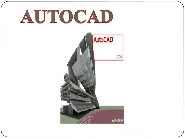 Autodesk Auto CAD es un programa de diseño asistido por computadora para dibujo en dos y tres dimensiones. Actualmente es...