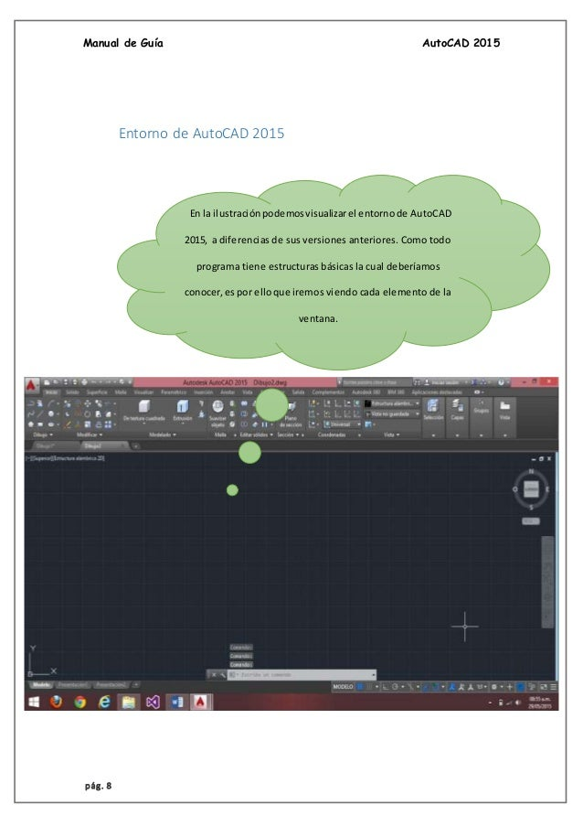 Manual de Autocad 2015 En espanol pdf Gratis