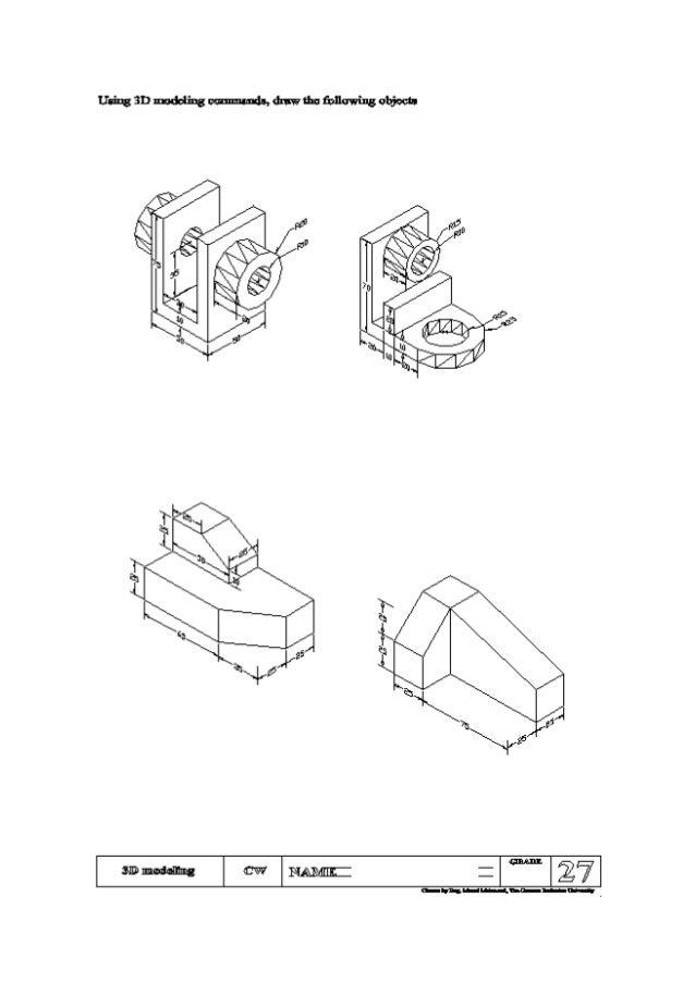 AutoCAD sheets