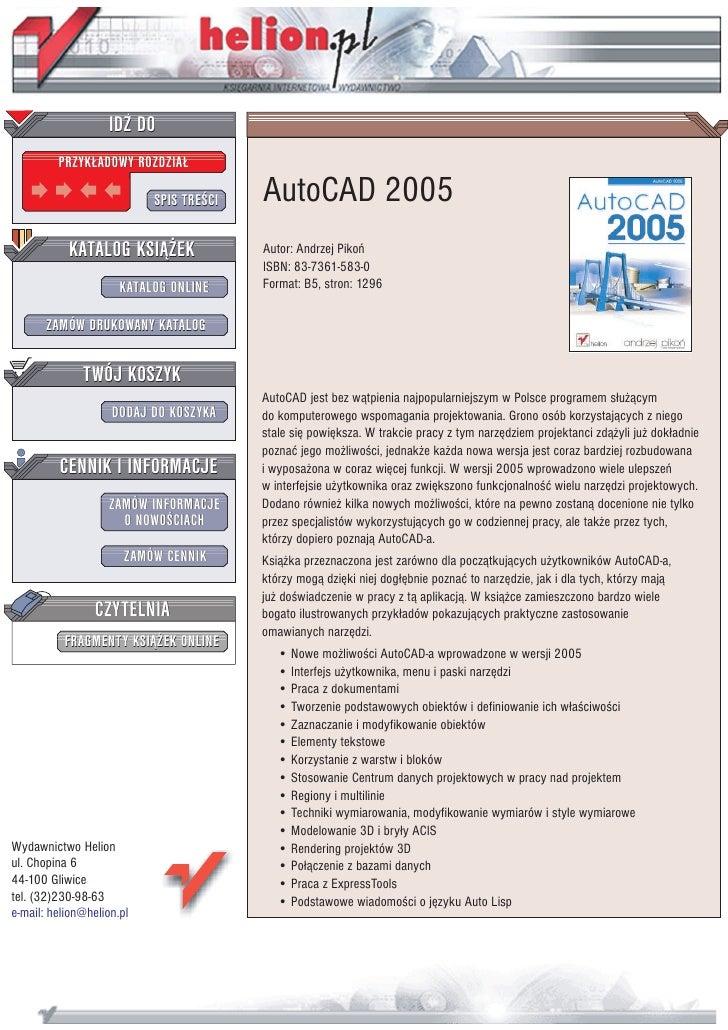 AutoCAD 2005