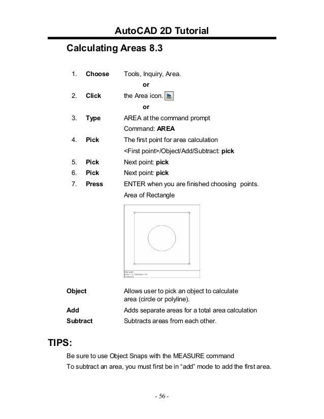 Auto cad20042d tutorial