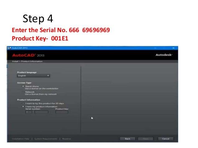 online key generator for autocad 2013