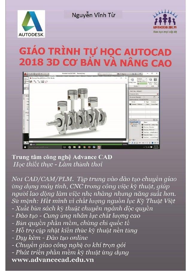 Kết quả hình ảnh cho Giáo Trình Autocad 2018 3D
