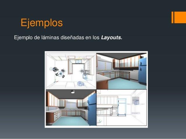 Ejemplos Ejemplo de láminas diseñadas en los Layouts.