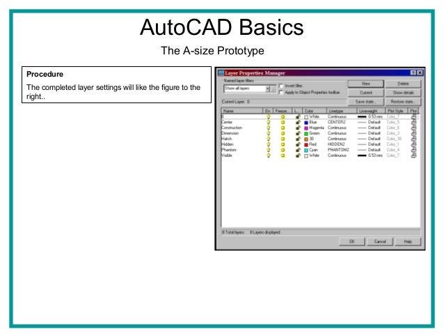 how to learn autocad basics