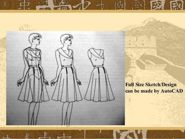 Auto Cad For Apparel Industry